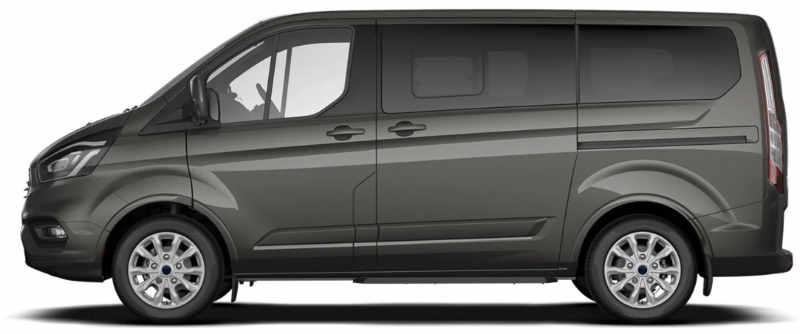 minibus Left Side View
